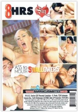 EROTYCZNY FILM DVD Ass to Mouth Swallowers