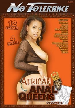 EROTYCZNY FILM DVD No Tolerance African Anal Queens 4