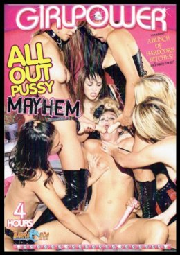 EROTYCZNY FILM DVD ALL OUT PUSSY MAYHEM