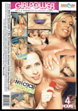 EROTYCZNY FILM DVD NO COCK ALLOWED