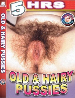 EROTYCZNY FILM PORNO DVD Old&Hairy Pussies
