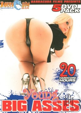 EROTYCZNY FILM DVD 5 Pack Young Girl Big Asses