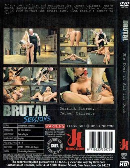 EROTYCZNY FILM DVD BRUTAL SESSIONS She Does it All for Dick
