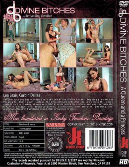 EROTYCZNY FILM PORNO DVD DIVINE BITCHES A Queen and a Princess