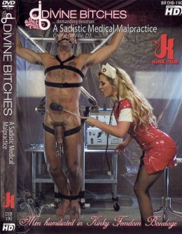 EROTYCZNY FILM PORNO DVD DIVINE BITCHES A Sadistic Medical Malpractice