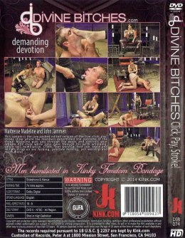 EROTYCZNY FILM PORNO DVD DIVINE BITCHES Clik,Pay,Stroke