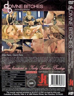 EROTYCZNY FILM PORNO DVD DIVINE BITCHES The Divine Bitches Corporation Office Slave