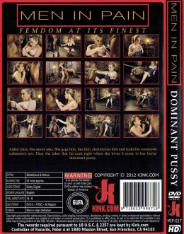 EROTYCZNY FILM PORNO DVD MEN IN PAIN Dominant Pussy