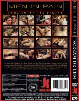 EROTYCZNY FILM PORNO DVD MEN IN PAIN Scream or Cum