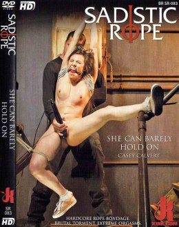 EROTYCZNY FILM DVD SADISTIC ROPE She can Barely Hold On