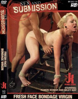 EROTYCZNY FILM DVD SEX and SUBMISSION Fresh Face Bondage Virgin