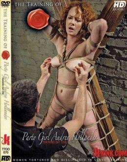 EROTYCZNY FILM DVD TRAINING OF Party Girl Audrey Hollander