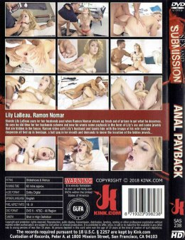 EROTYCZNY FILM DVD SEX and SUBMISSION Anal Payback